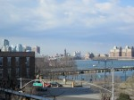 View from the High Line in new york city