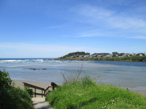 View of Yachats River